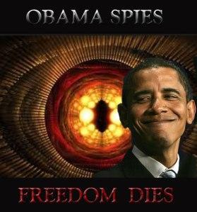 Obama Spies - Freedom DIES